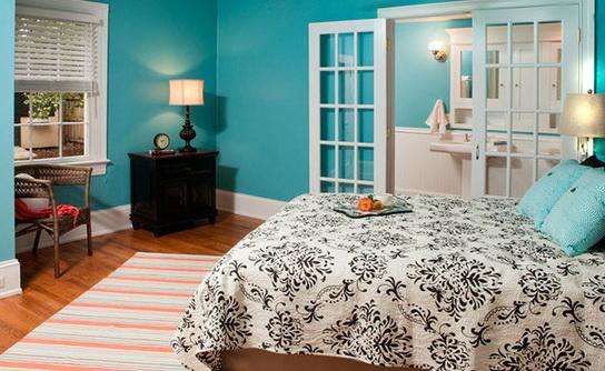 Tiffany Blue Bedroom Walls