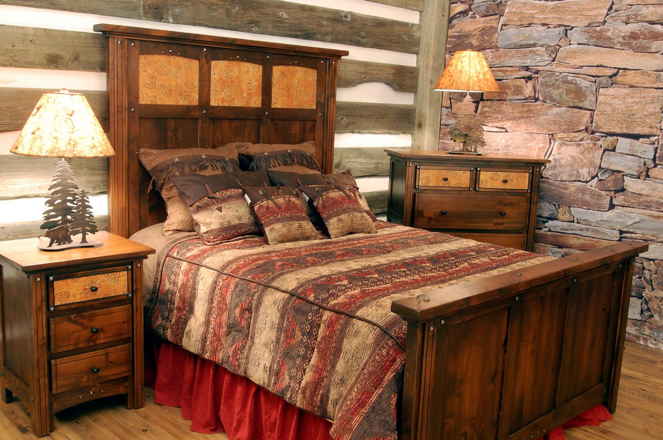Western Rustic Bedroom Furniture