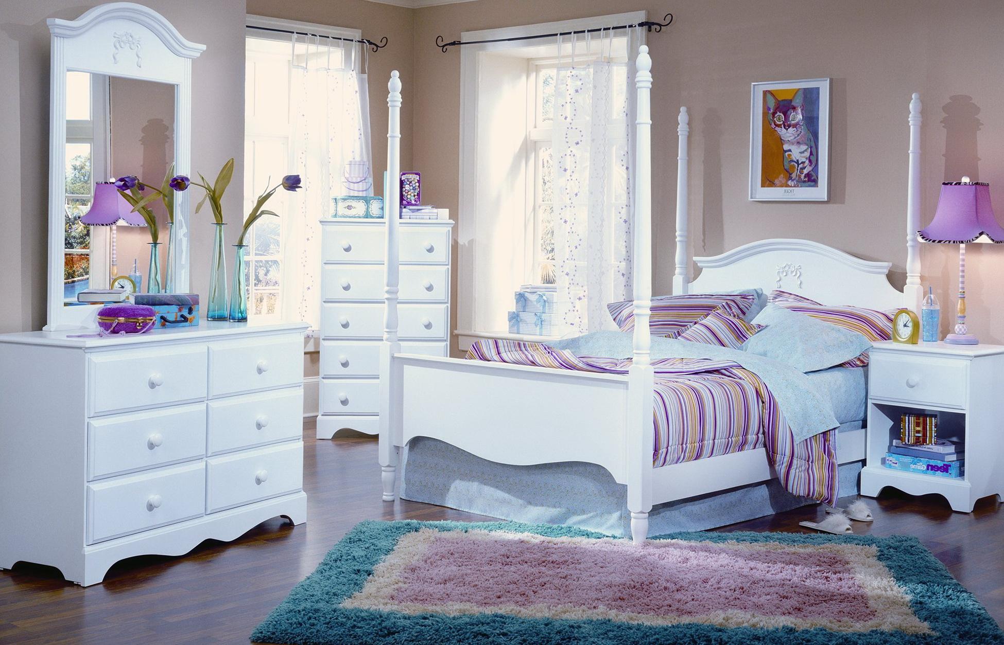 White Bedroom Furniture Sets For Girls