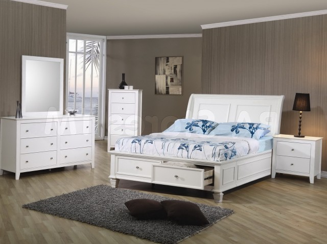 White Full Size Bedroom Sets