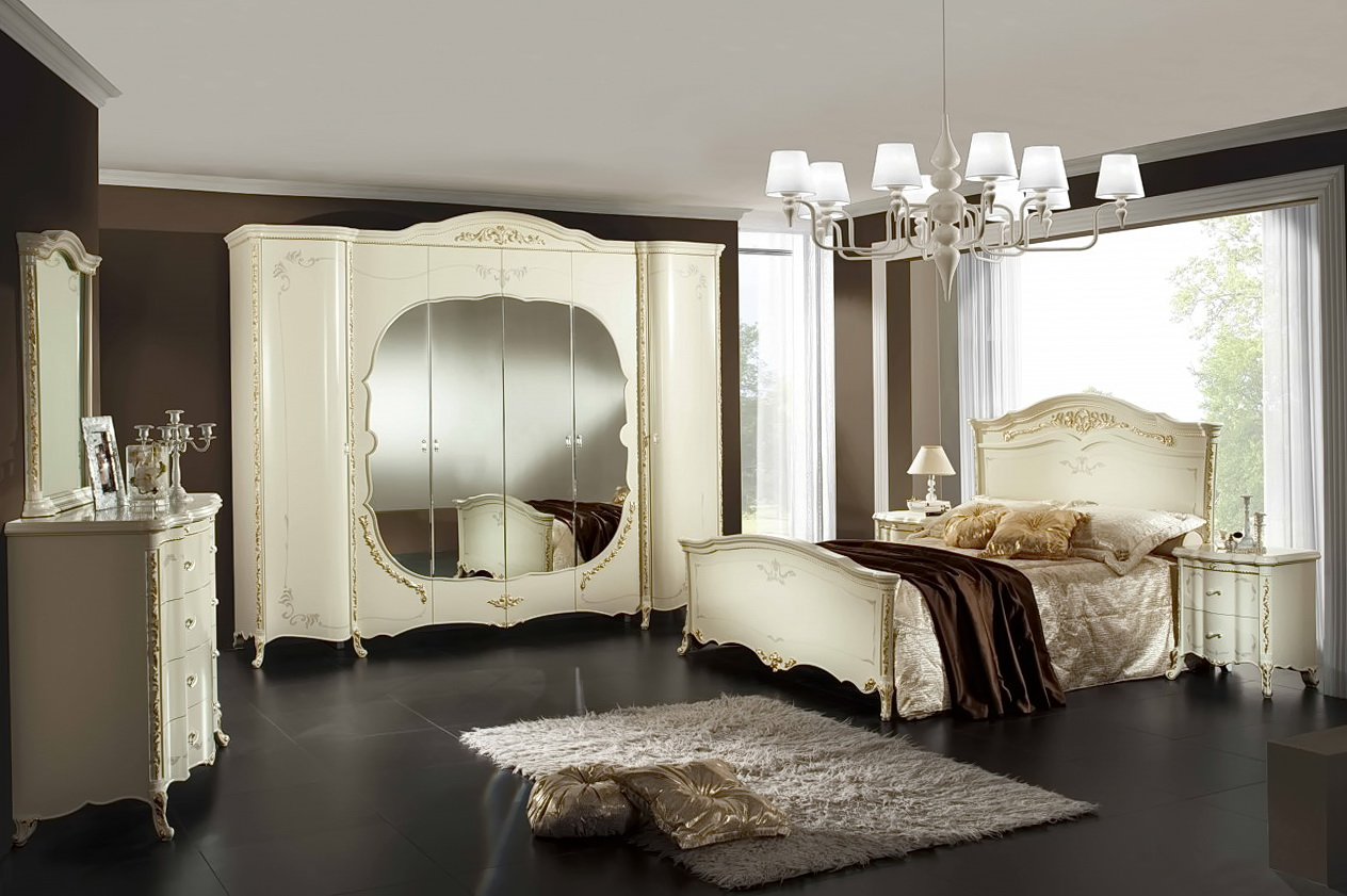 White King Size Bedroom Sets