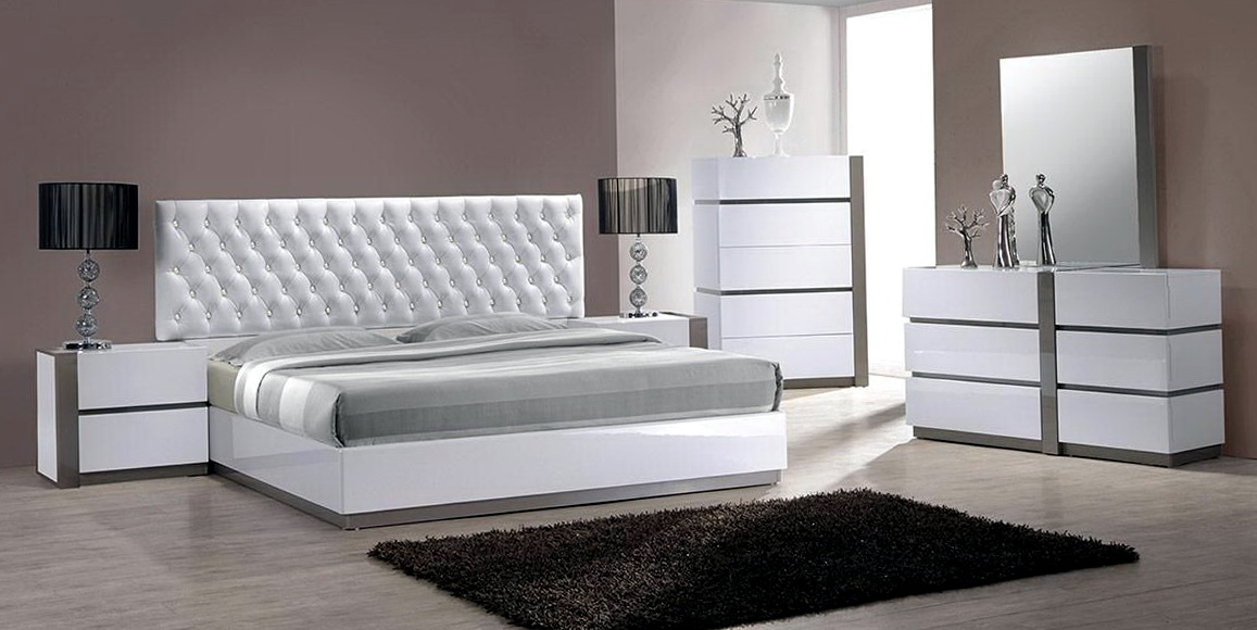 White Master Bedroom Sets