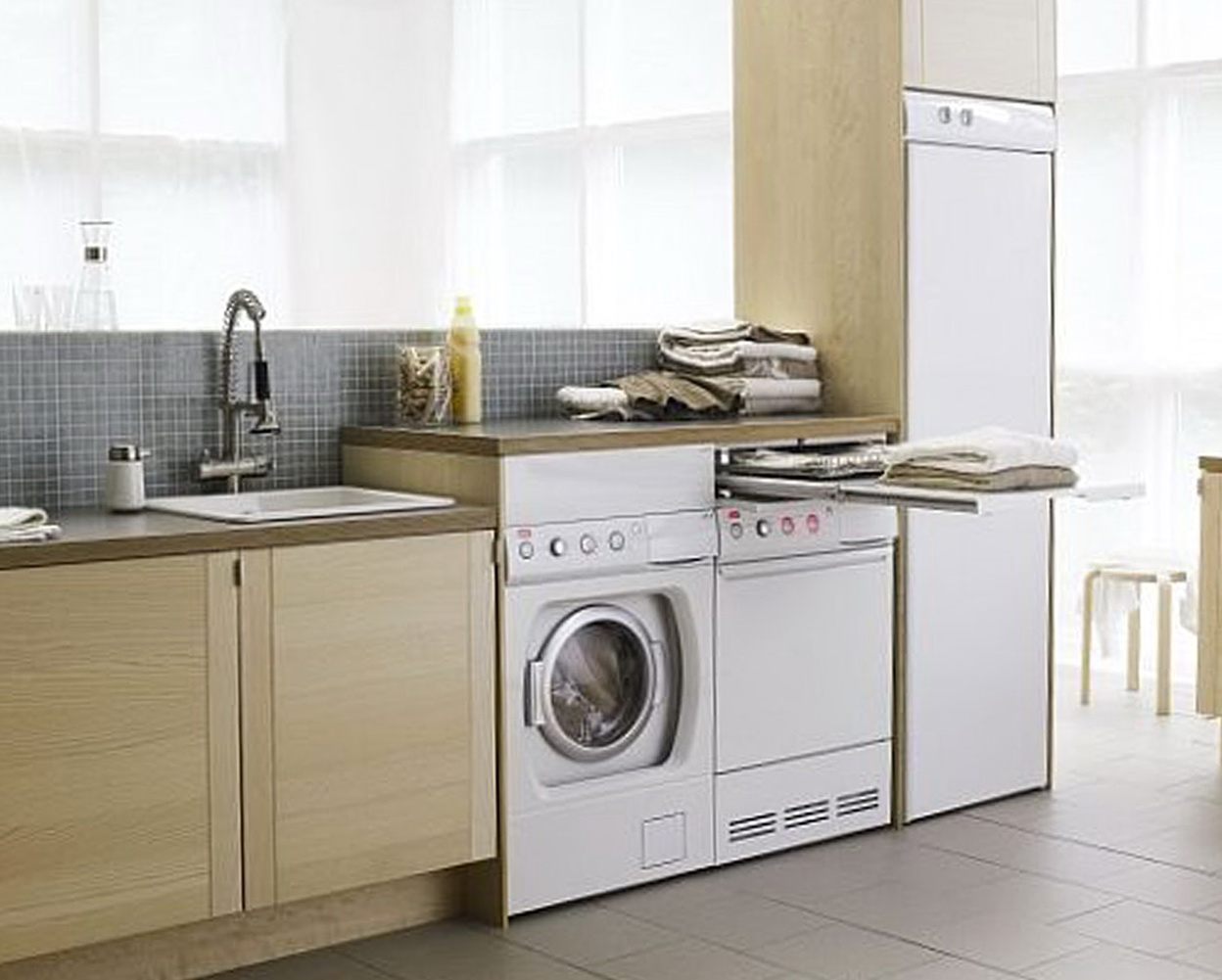 18 Laundry Sink Cabinet