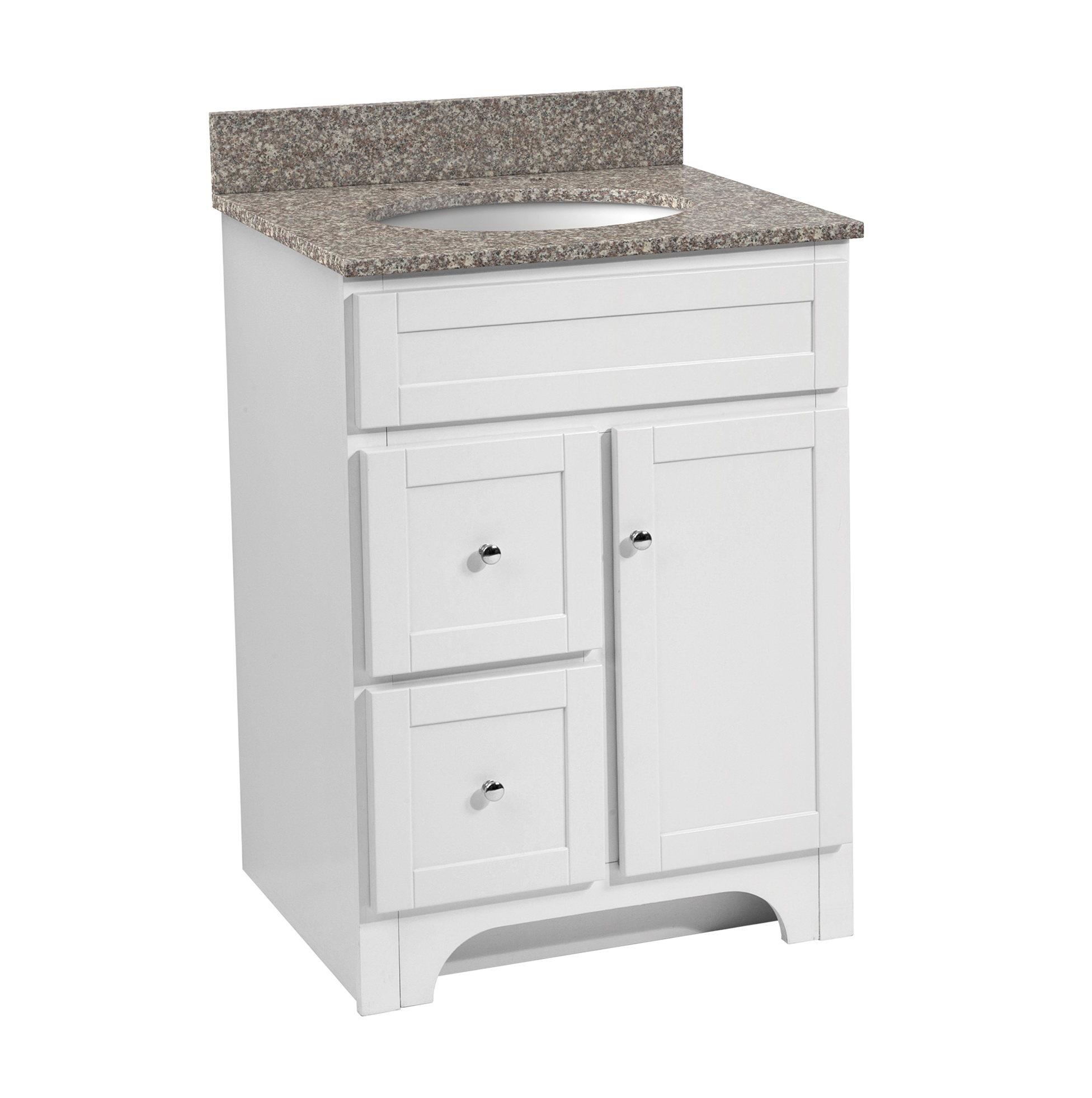 24 Inch Bathroom Vanity With Drawers