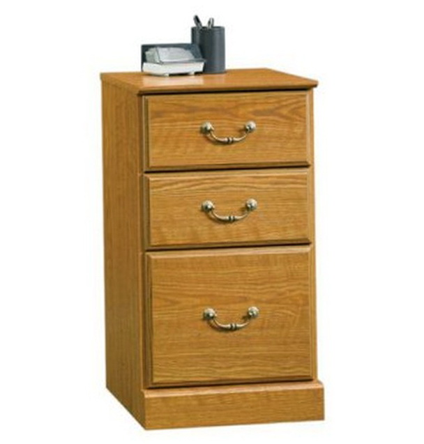 3 Drawer File Cabinet Wood