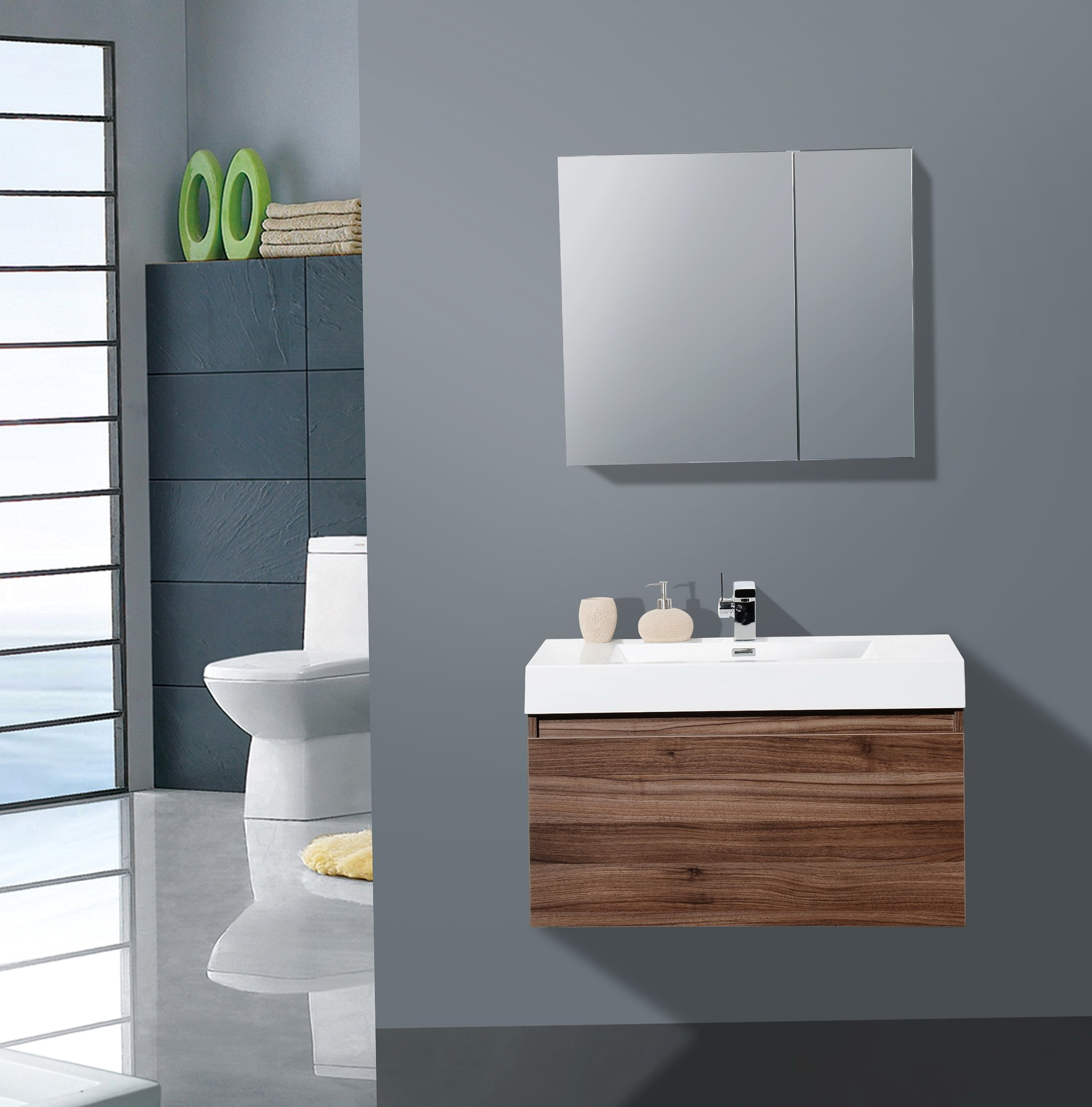 36 Inch Bathroom Vanity Mirror