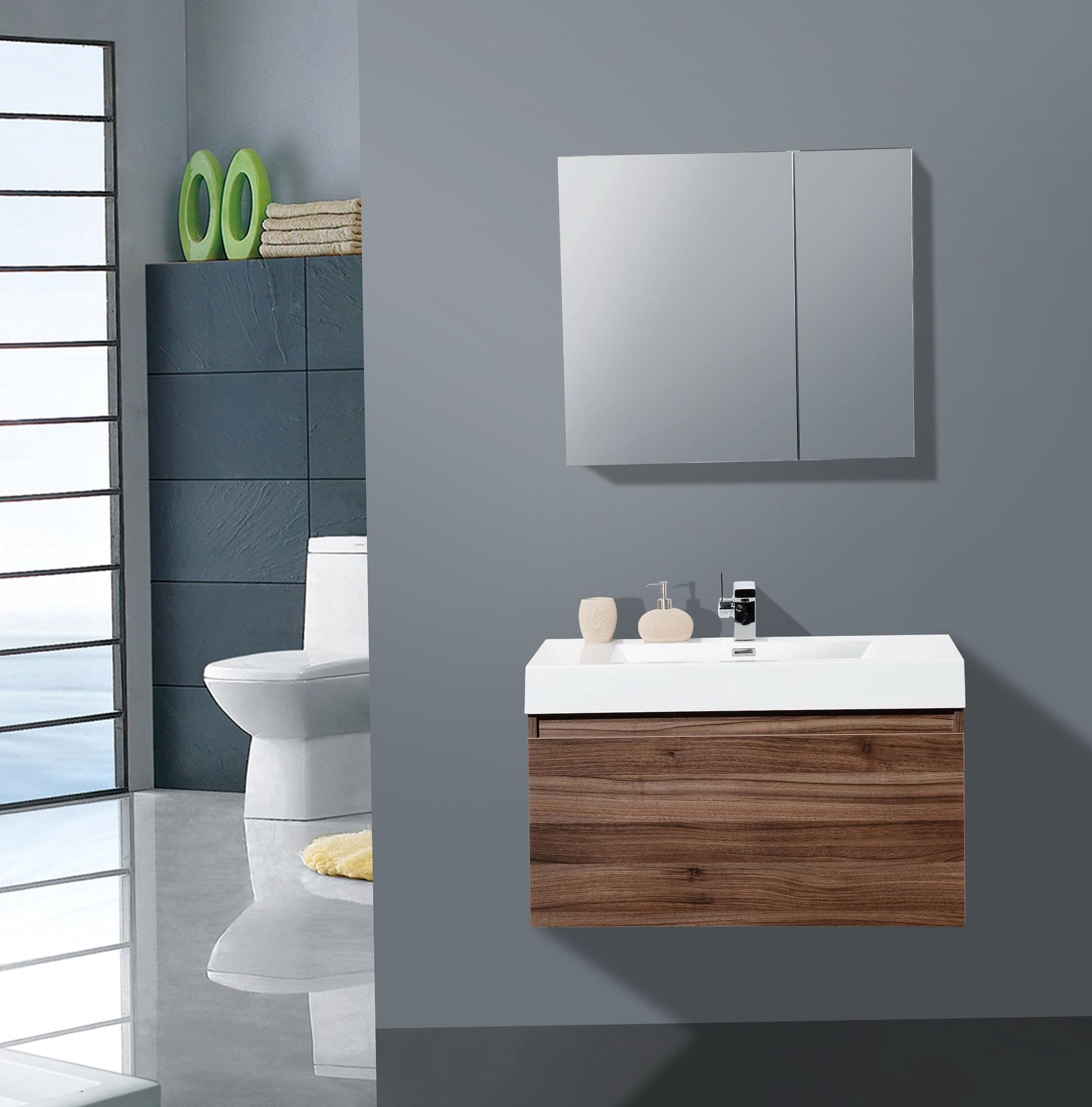 36 Inch Bathroom Vanity Mirror