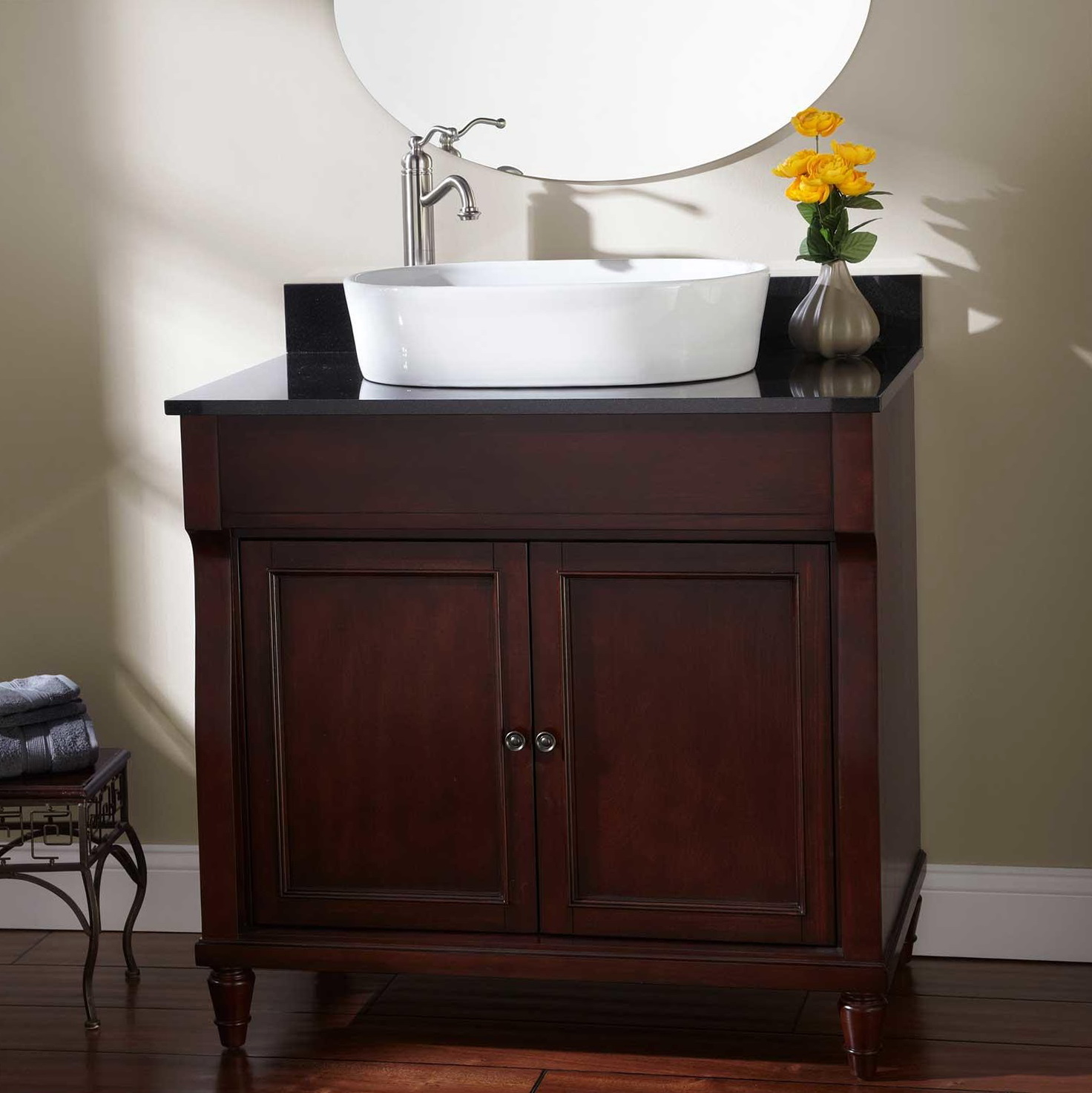 36 Inch Bathroom Vanity Vessel Sink