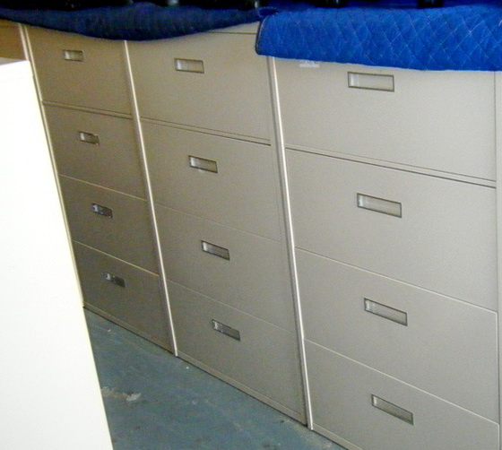 4 Drawer File Cabinet Used