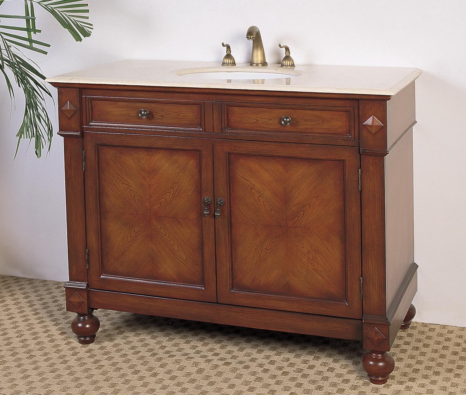 42 Inch Bathroom Vanity Base
