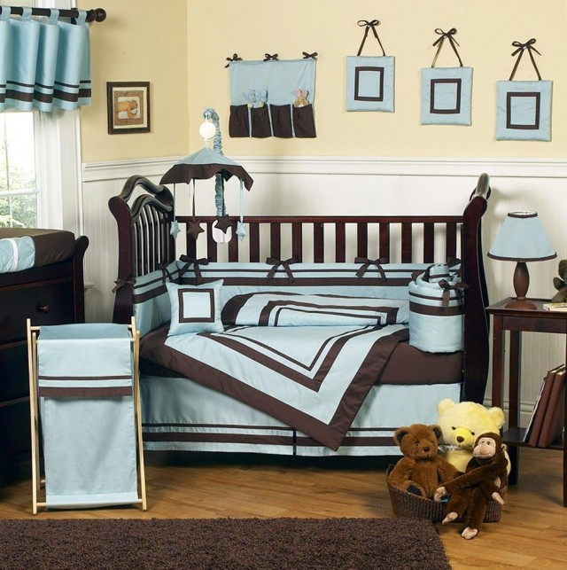 Baby Blue And Brown Beddingbaby Blue And Brown Bedding