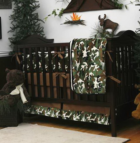 Baby Boy Crib Bedding Sets Camo 2