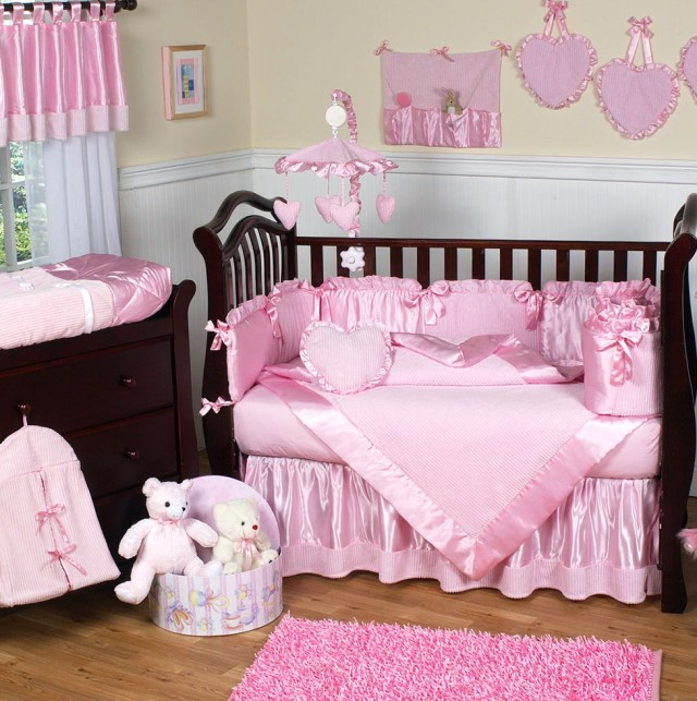 Baby Girl Bedding Sets Pinkbaby Girl Bedding Sets Pink
