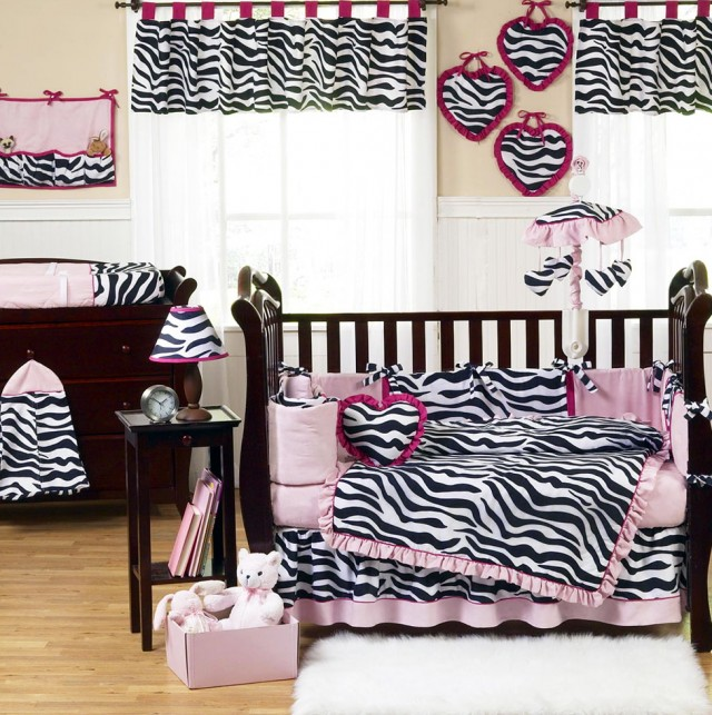 Baby Girl Crib Bedding Sets Zebrababy Girl Crib Bedding Sets Zebra