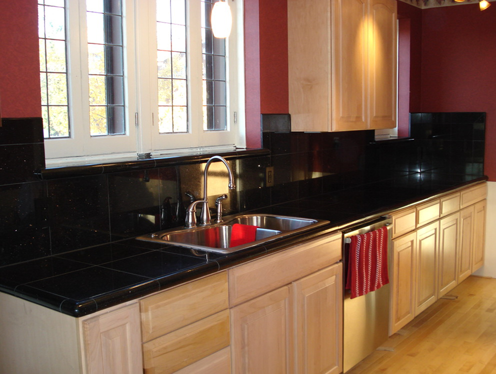 Backsplash For Kitchen With Black Granite Countertopbacksplash For Kitchen With Black Granite Countertop
