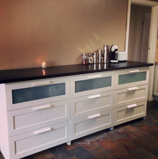 Bar Cabinet Ikea Hack