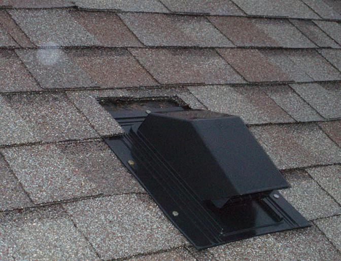 Bathroom Exhaust Fan Roof Vent