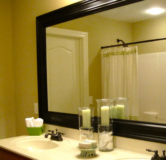 Bathroom Mirror Frames Do It Yourself