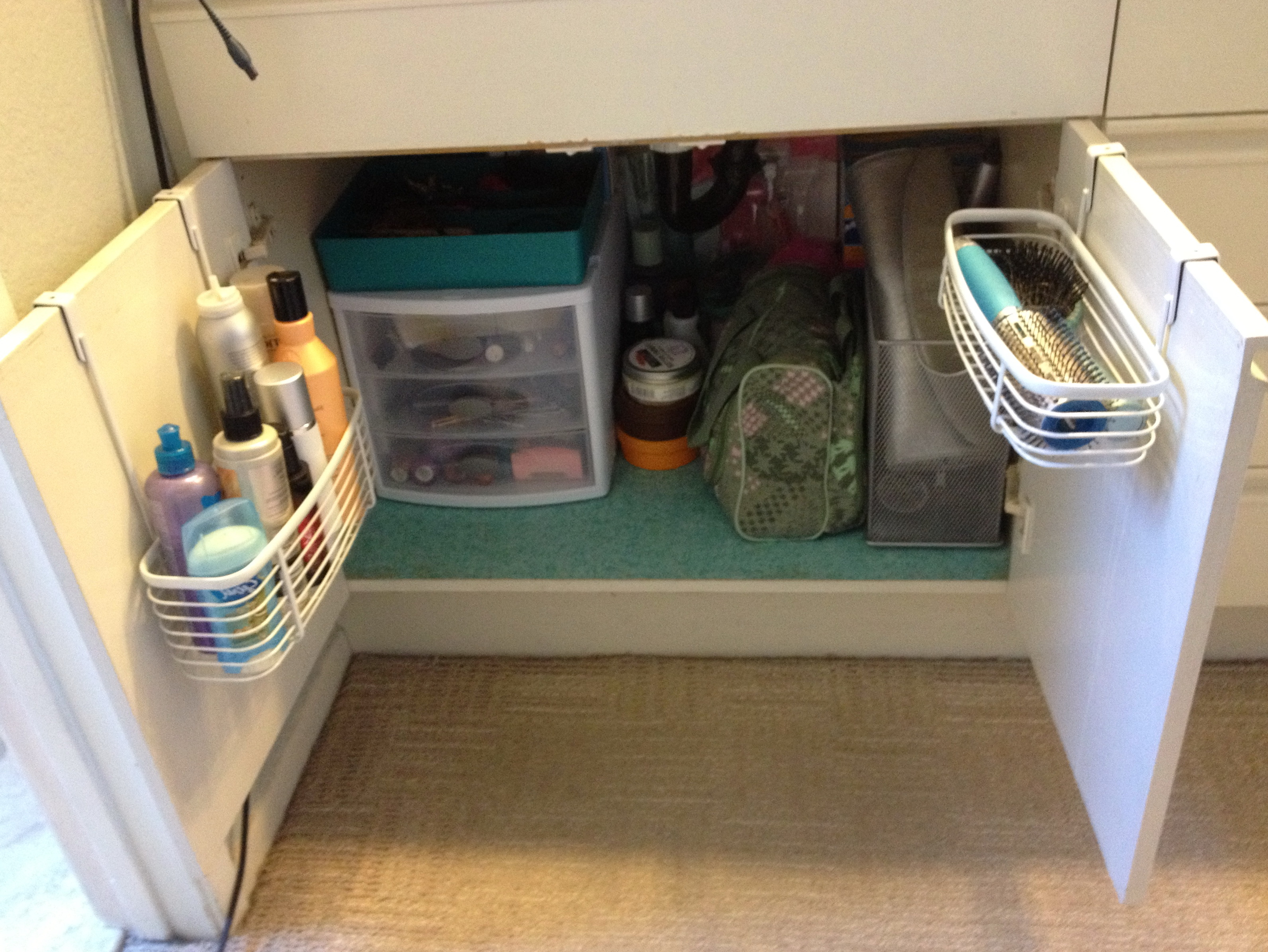 Bathroom Organization Ideas Under Sink