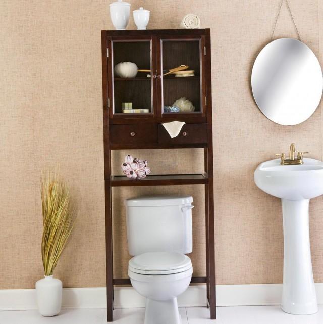 Bathroom Space Saver Oak
