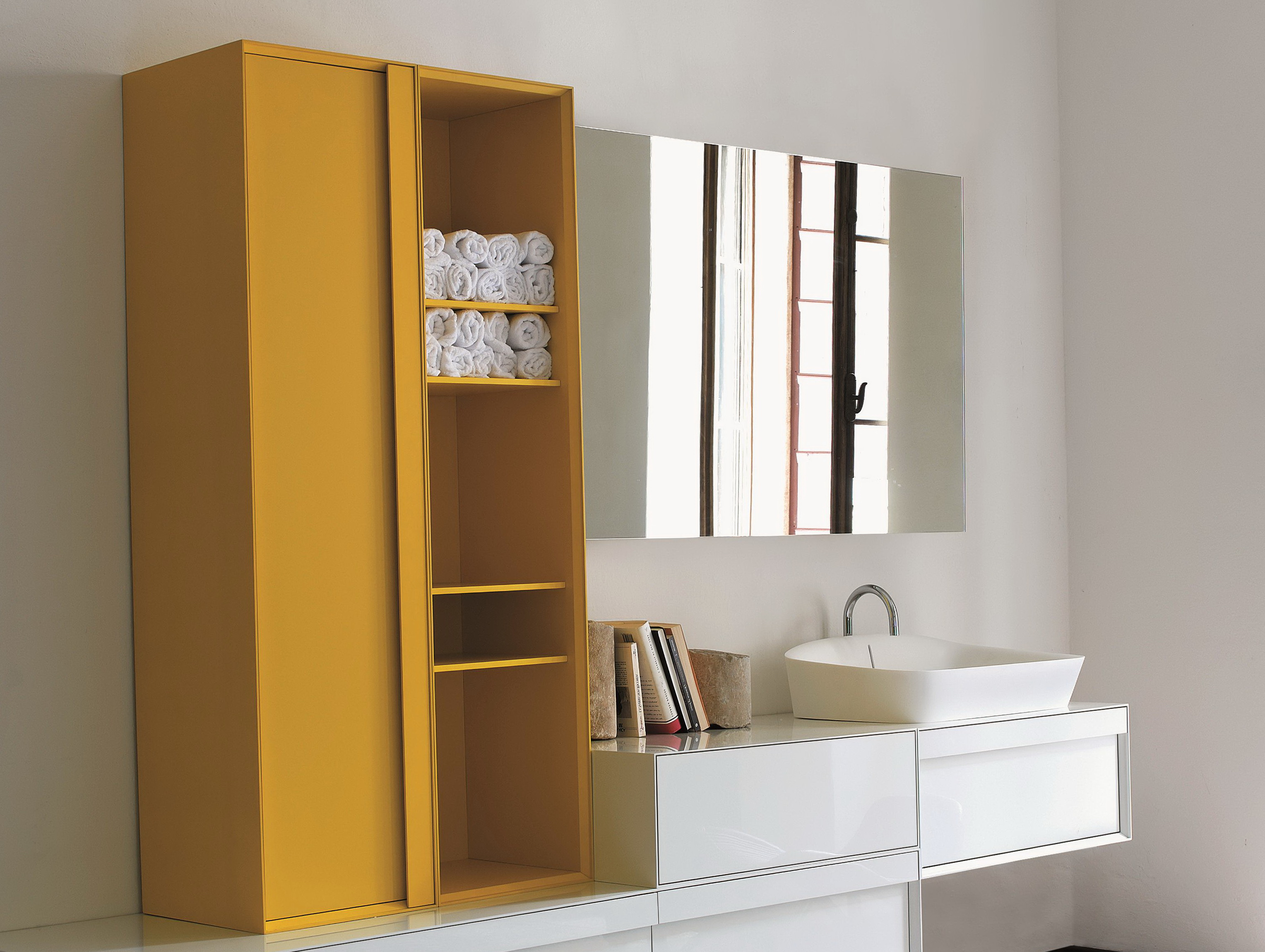 Bathroom Tall Storage Cabinet