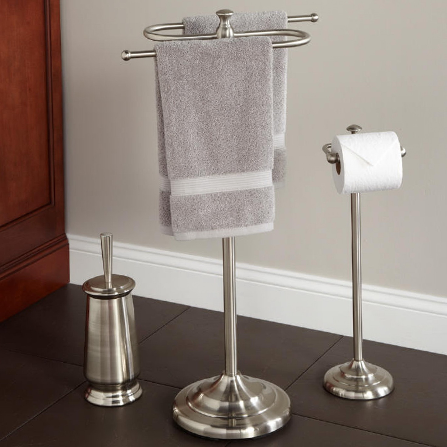 Bathroom Towel Bars And Toilet Paper Holders