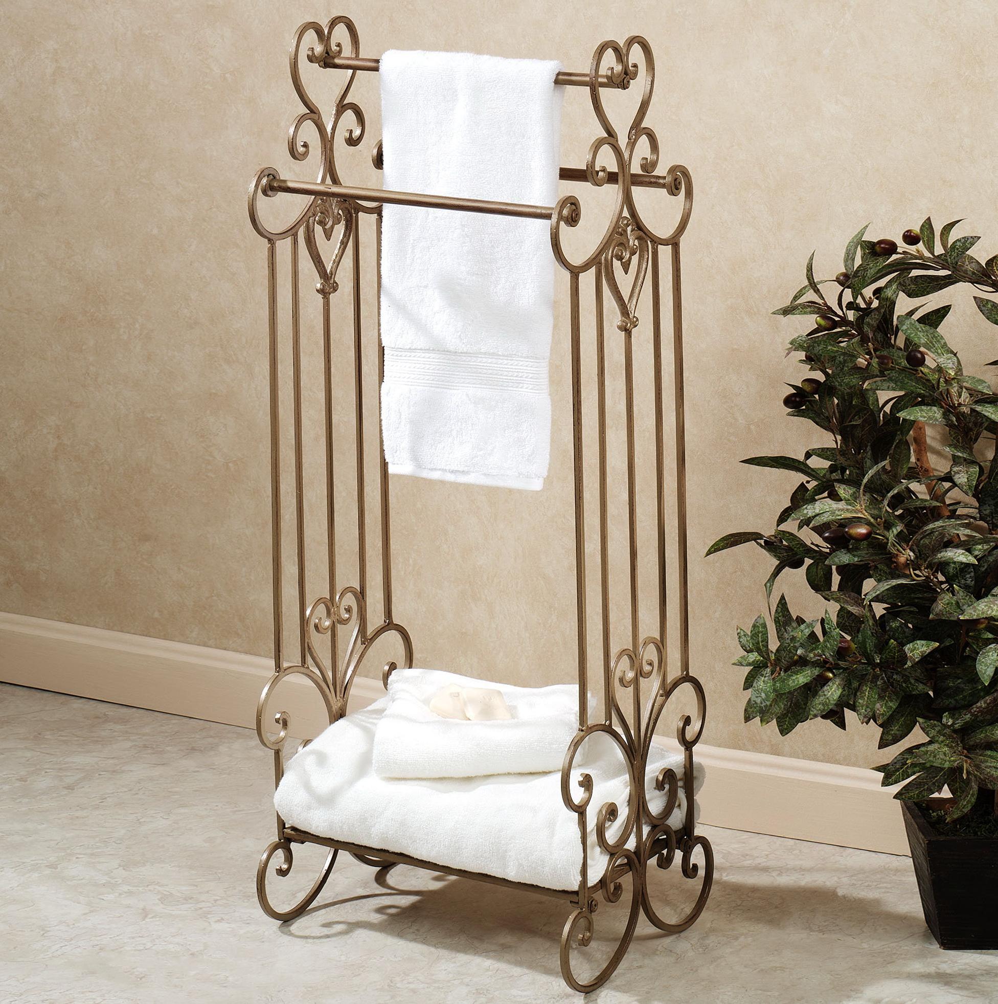 Bathroom Towel Racks Ideas