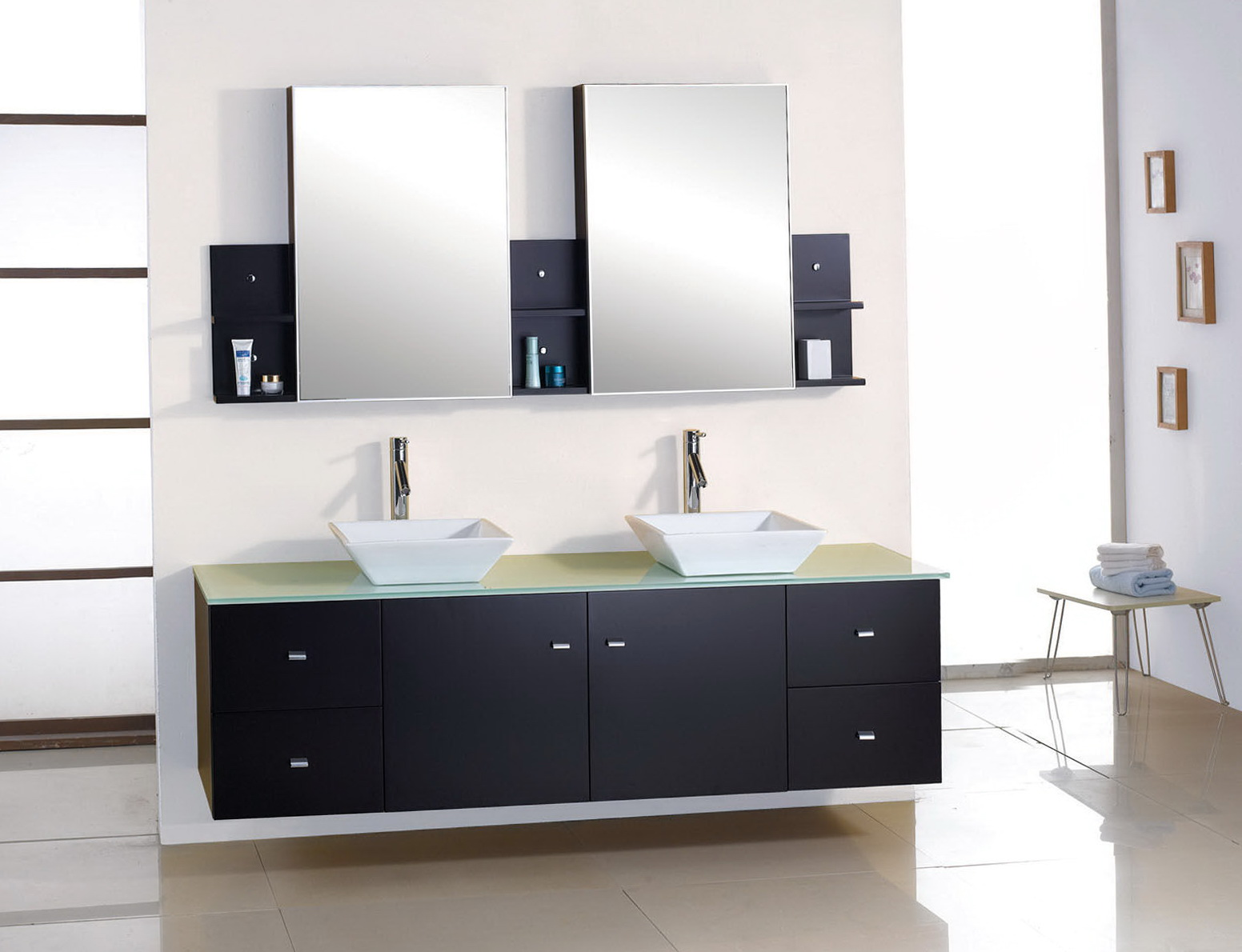 Bathroom Vanity Mirrors For Double Sink