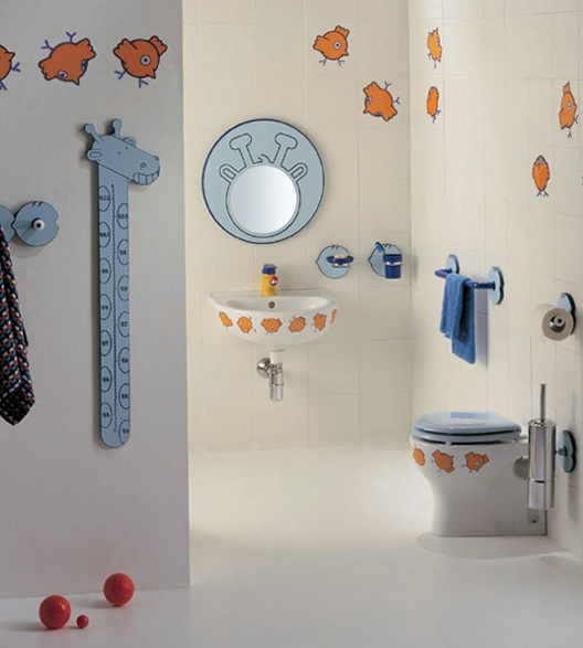 Bathroom Wall Decor For Kids