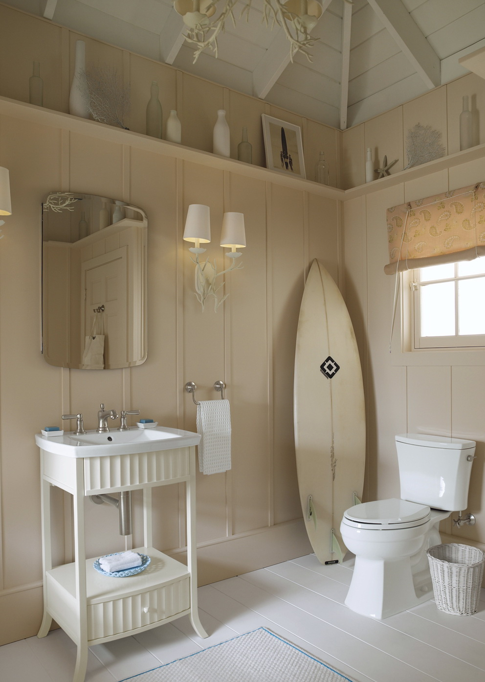 Beach Themed Bathroom Lighting