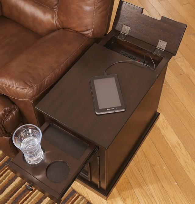 Bed Tray Table With Cup Holder