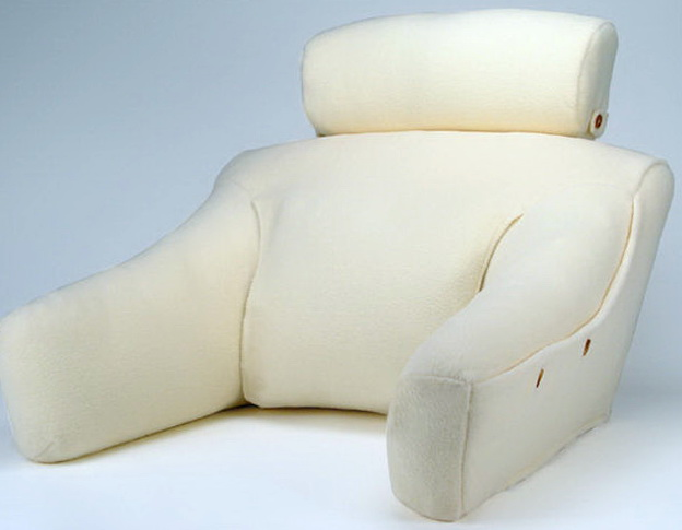 Bed Wedge Pillow With Arms