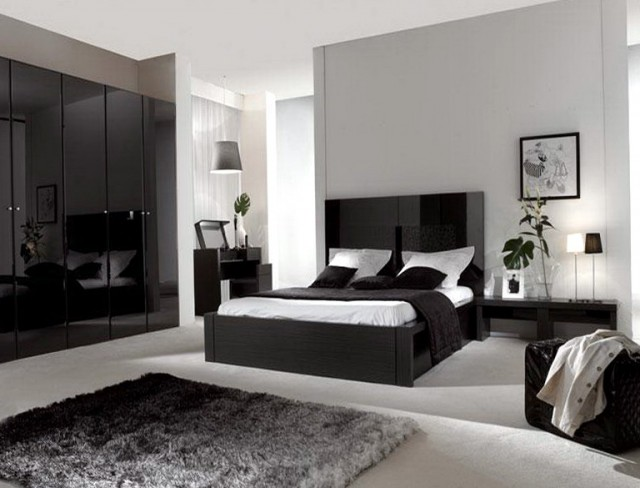 Bedroom Color Schemes Grey