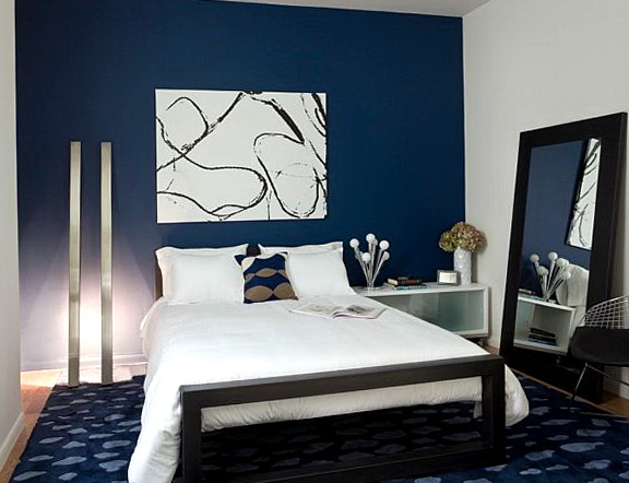 Bedroom Decor Ideas Blue