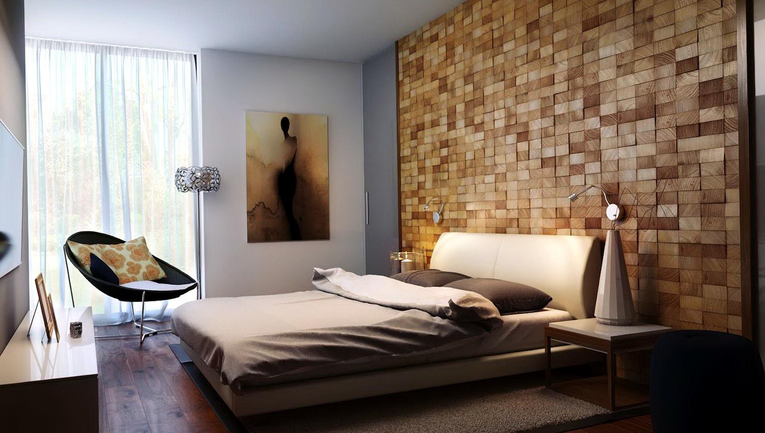 Bedroom Decor Ideas Feature Wall