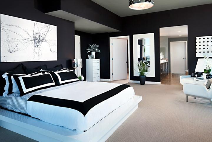 Bedroom Design Ideas Black And White