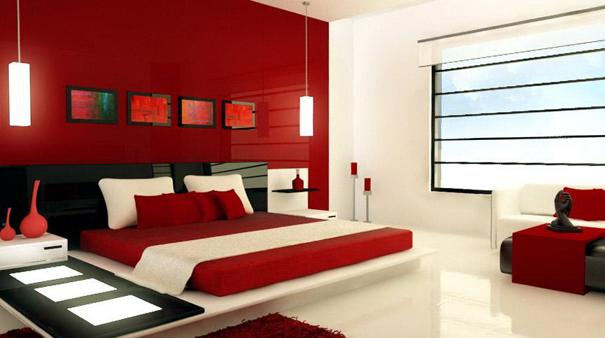 Bedroom Design Ideas Red