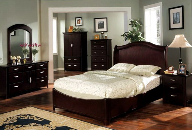 Bedroom Paint Colors With Dark Brown Furniture