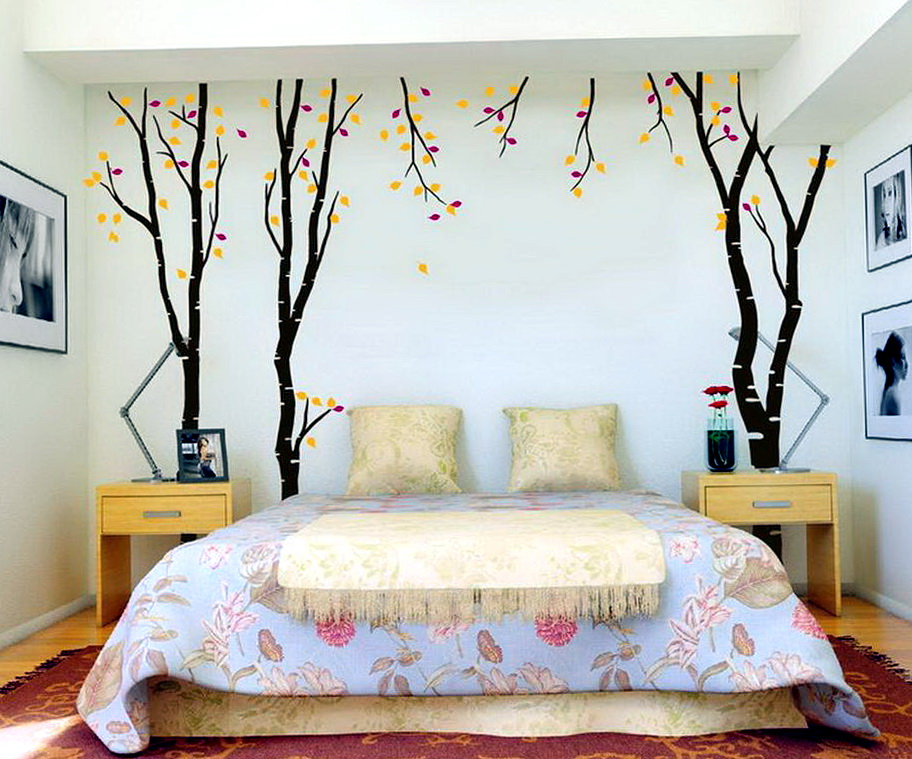 Bedroom Wall Decals Ideas