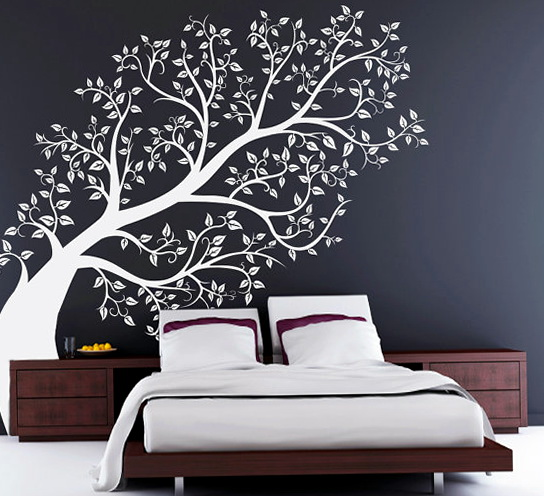 Bedroom Wall Decals Tree
