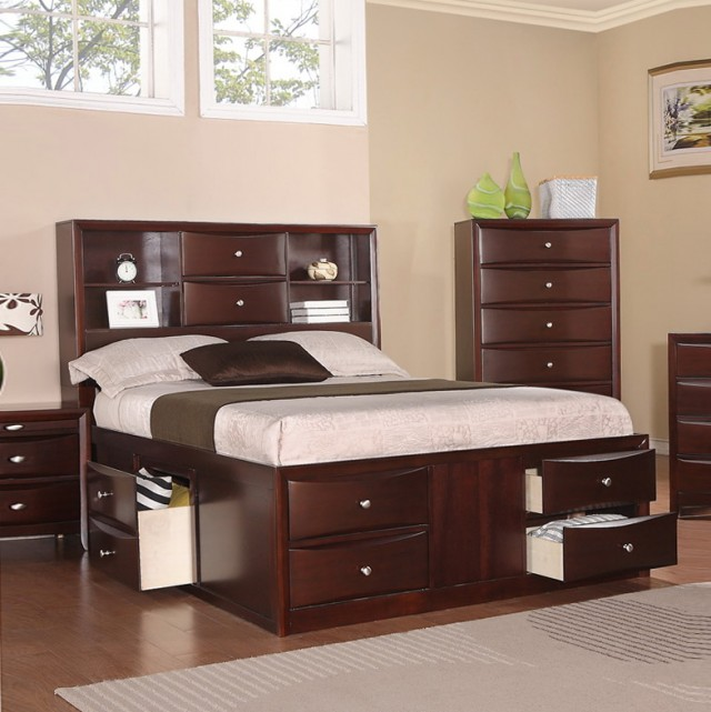 Beds With Drawers And Shelvesbeds With Drawers And Shelves