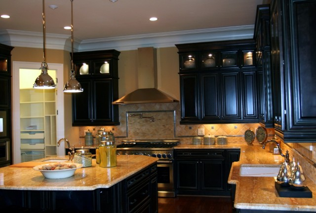 Best Paint For Kitchen Cabinets Black