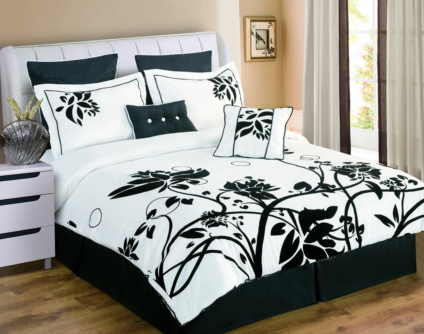 Black And White Bed Sets For Girls