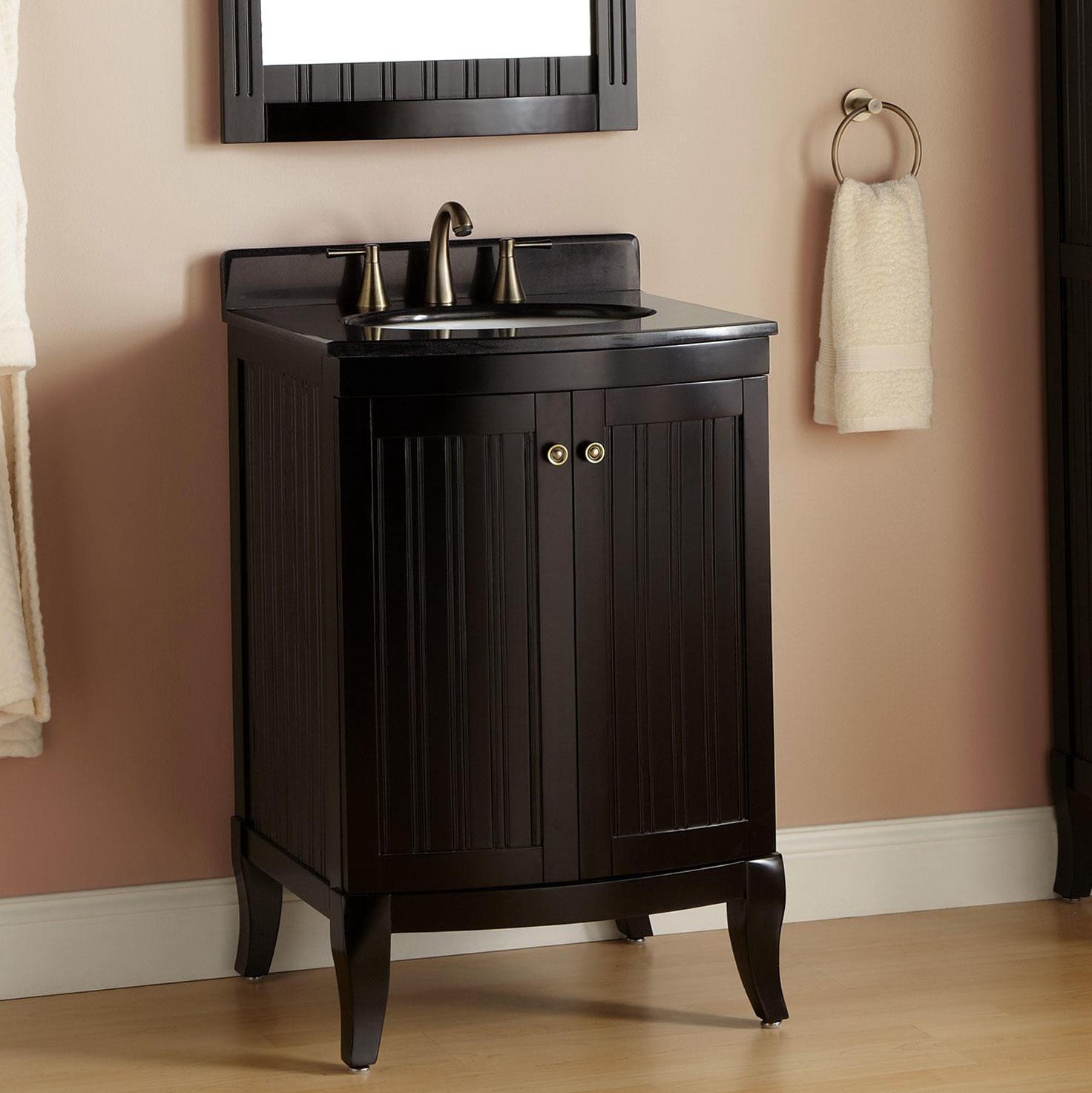 Black Bathroom Vanities With Tops