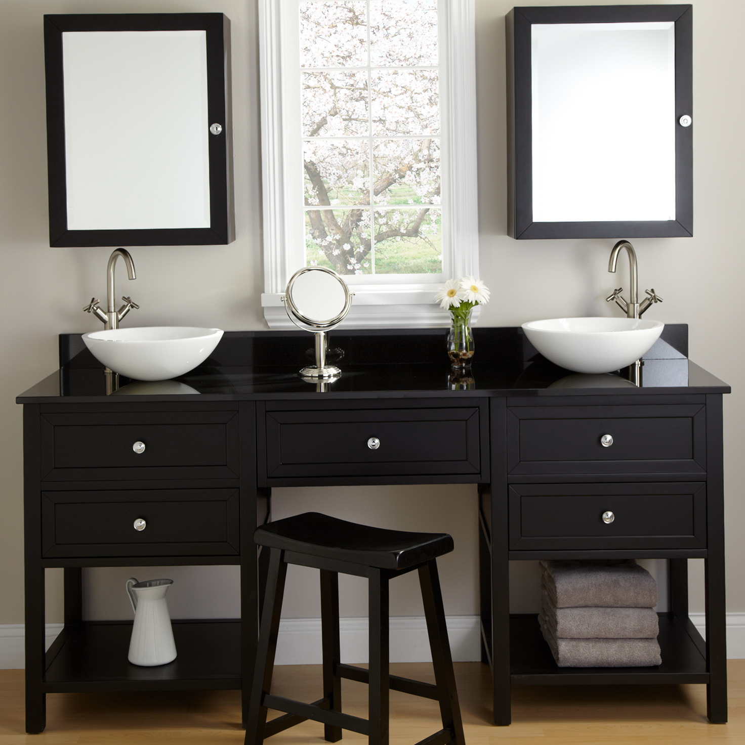 Black Bathroom Vanity Canada