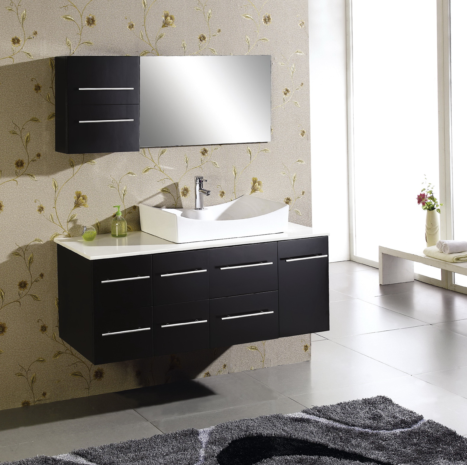 Black Bathroom Vanity Ideas