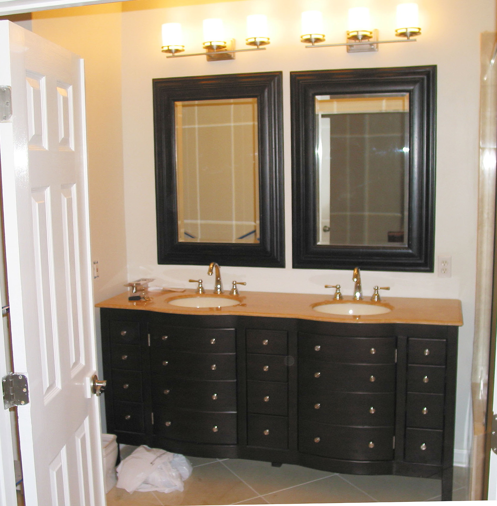 Black Bathroom Vanity Lights