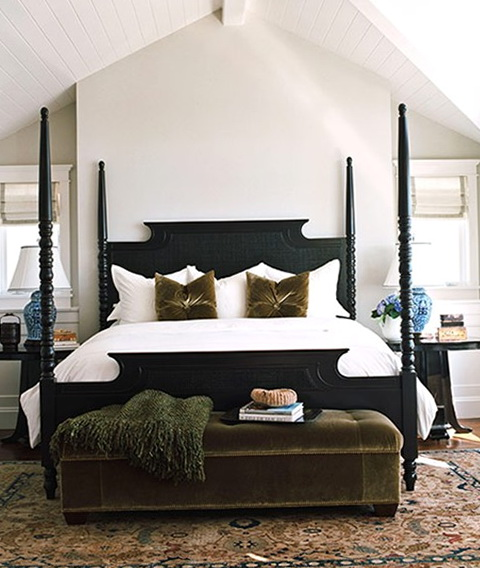 Black Bed Frame Room Ideas