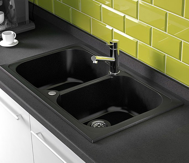 Black Farm Sinks For Kitchens