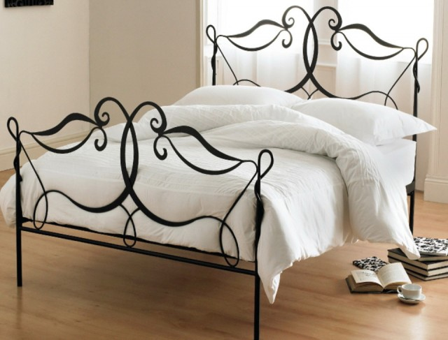 Black Wrought Iron Bed Frames